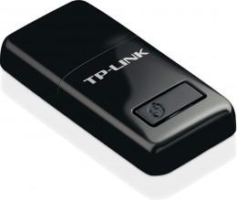 محول يو اس بي لاسلكي 300 ميجابت/ثانية لاجهزة الحاسوب من تي بي لينك Tl-wn823n (أسود)