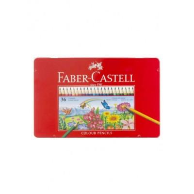 ألوان خشبية مائية فابر كاستل، 36 لون
