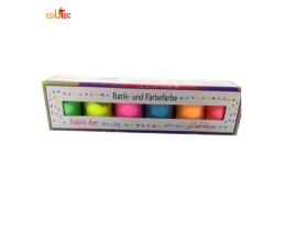 بودرة ألوان قماش لون فسفوري 6 لون بريما