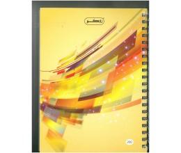 دفتر روكو 200 ورقة عربي سلك مقوى