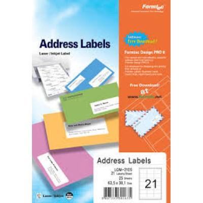ورق لاصق - formatec-  labels21