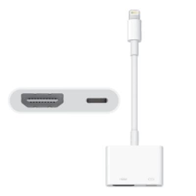 وصلة توافق اجهزة الايفون HDMI مع الشاشة