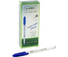 قلم جاف روكو ازرق 0.1