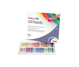 ألوان باستيل زيتية مكونة من 36 لون