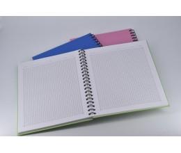 دفتر سلك مربعات